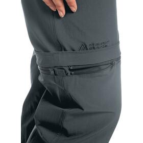 Maier Sports Nata 2 Pantalón Zip-Off Mujer, graphite